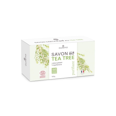 Savon au tea tree Bio, purifiant