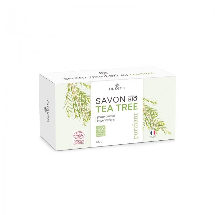 Savon au tea tree Bio, purifiant